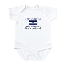 El Salvadorian Twins-Good Lkg Infant Bodysuit