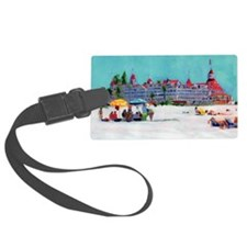 Hotel del Coronado Beach Luggage Tag