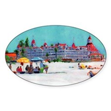 Hotel del Coronado Beach Decal