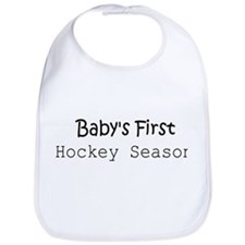 Baby's First Hockey Season Bib