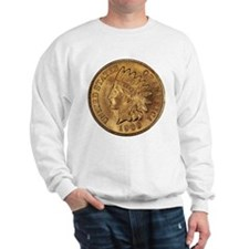 1909 Indian Cent Women's Sweatshirt