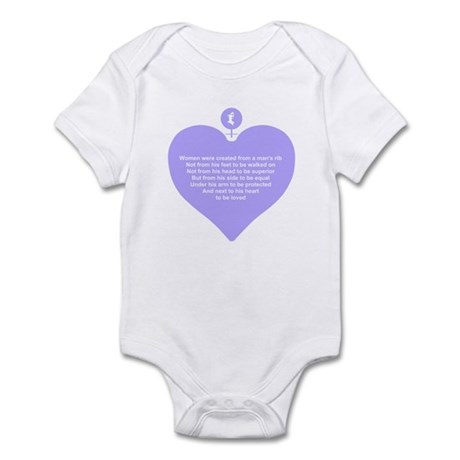 Purple Heart Infant Bodysuit