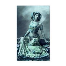 Vintage Bellydance Wall Calen Rectangle Car Magnet