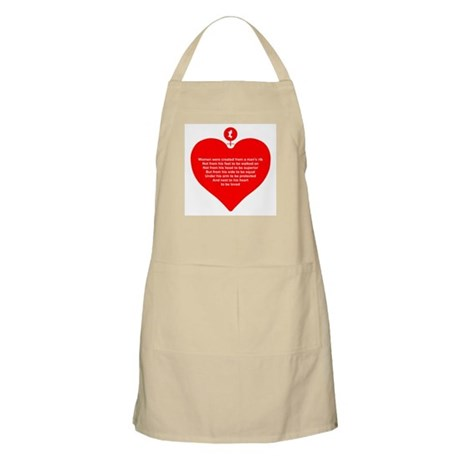 Red Heart BBQ Apron