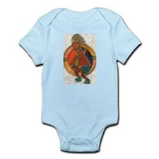 Kokopelli healing Infant Bodysuit