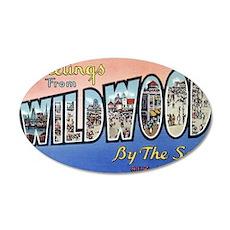 Wildwood PC pre-war 35x21 Oval Wall Decal