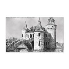 boldt castle 2x3_magnet Wall Decal