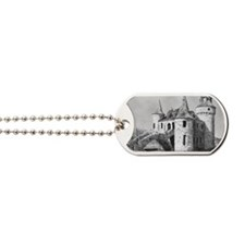 boldt castle 2x3_magnet Dog Tags