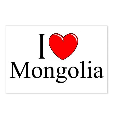 """I Love Mongolia"" Postcards (Package of 8)"