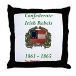 Confederate Irish Throw Pillow