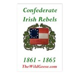 Confederate Irish Postcards (Package of 8)