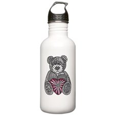 ZENTANGLE INSPIRED TED Water Bottle