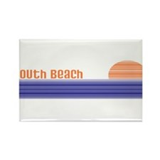 South Beach Rectangle Magnet (100 pack)