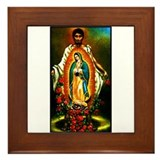 Juan Diego - Guadalupe Framed Tile