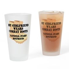 National Guard Boyfriend Desert Combat Boots Drink