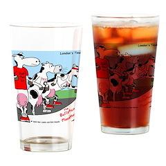 The Bullston Mooathon Drinking Glass