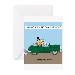Chicken Coupe for the Sole Greeting Cards (Pk of 2