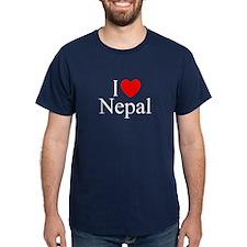 """I Love Nepal"" T-Shirt"