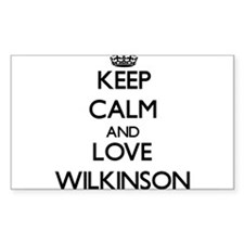 Keep calm and love Wilkinson Decal