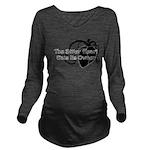 The Bitter Heart Long Sleeve Maternity T-Shirt