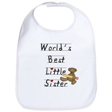 World's Best Little Sister Bib