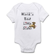 World's Best Little Sister Infant Bodysuit