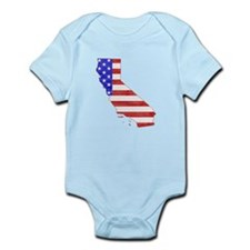 California Flag Infant Bodysuit