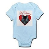 Chinchilla Valentine Infant Bodysuit