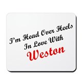 In Love with Weston Mousepad