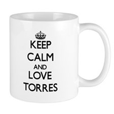 Keep calm and love Torres Mugs