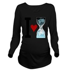 i heart wikileaks Long Sleeve Maternity T-Shirt