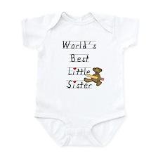 World's Best Little Sister Infant Bodysuit