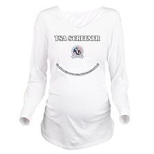 TSA_Screener Long Sleeve Maternity T-Shirt
