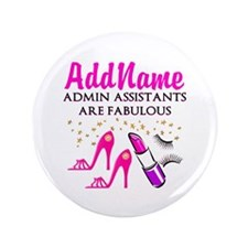 "BEST ADMIN ASST 3.5"" Button (100 pack)"
