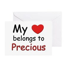 My heart belongs to precious Greeting Cards (Packa