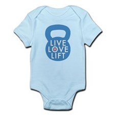 Blue Live Love Lift Body Suit