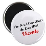 In Love with Vicente 2.25&quot; Magnet (100 pack)