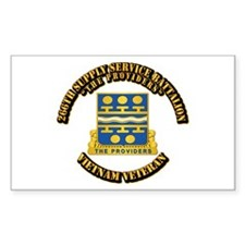 Army - 266th Supply Service Battalion Decal