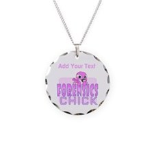 Forensics Chick Necklace