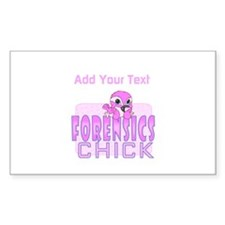Forensics Chick Decal