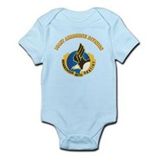 DUI - 101st Airborne Division with Text Infant Bod
