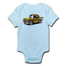 BabyAmericanMuscleCar_57BelR_Gold Body Suit