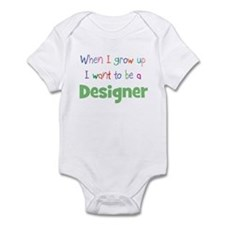 When I Grow Up Designer Infant Bodysuit