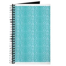 Blue Snake Skin Journal