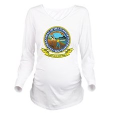Minnesota Seal Long Sleeve Maternity T-Shirt