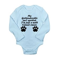 Well Trained Goldendoodle Owner Body Suit