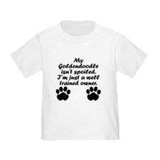 Well Trained Goldendoodle Owner T-Shirt