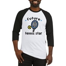 Tennis Star Baseball Jersey