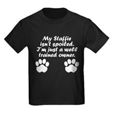 Well Trained Staffie Owner T-Shirt