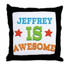 Awesome Personalized Throw Pillow